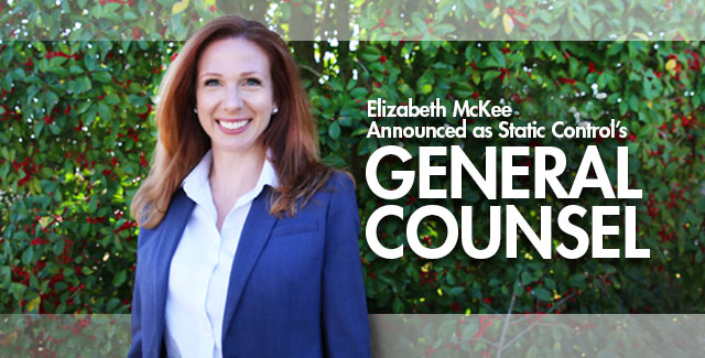 Elizabeth McKee Announced as New General Counsel Announced at Static Control