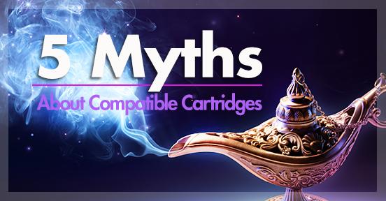 Mitos sobre cartuchos compatíveis