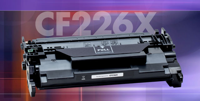 CF226X replacement cartridge for the M402 and M426 printers