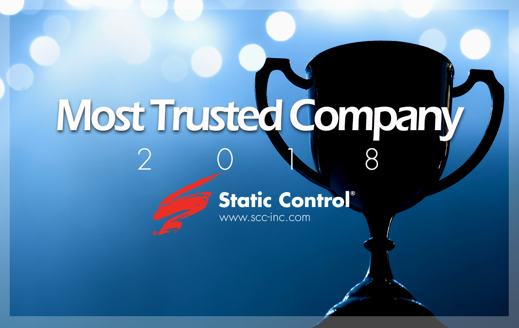 Static Control - Most Trusted Company (premio all'impresa più affidabile)