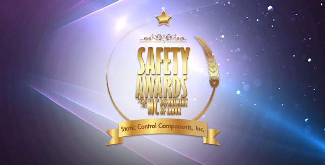 Static Control Receives Awards from Department of Labor