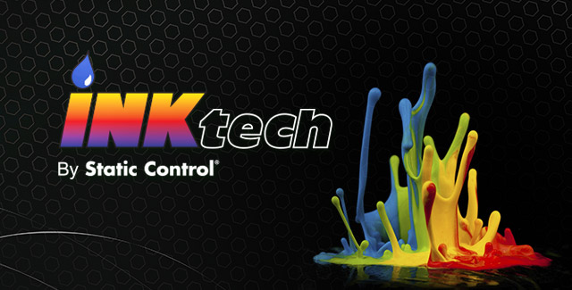 The INKtech by Static Control logo, Ink Technology