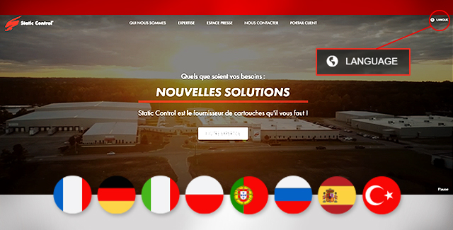 Our website is now available in 8 new languages