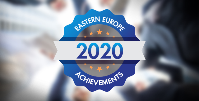 Three Companies in Eastern Europe were recognized for achievements in 2020