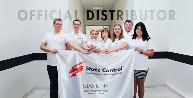 Ukraine Distributor Honored by Static Control