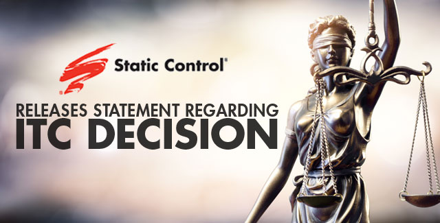 Static Control Pleased with ITC Decision