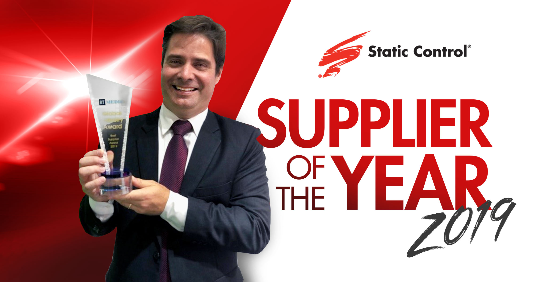 Static Control Wins Supplier of the Year