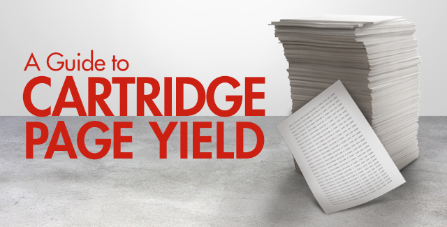 A Guide to Page Yield, Cartridge Page Yield and Extended Yield