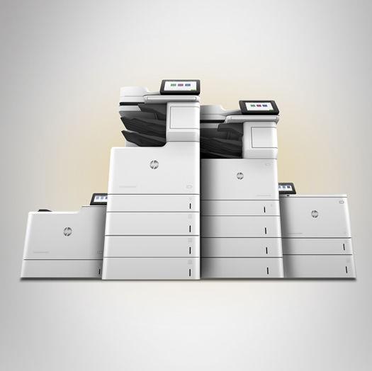 Impressora LaserJet com JetIntelligence da HP