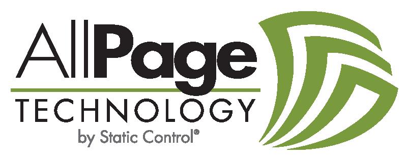Логотип AllPage: Решение AllPage Technology от компании Static Control